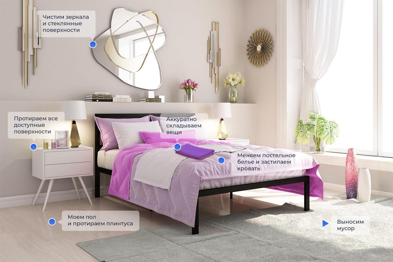 Уборка квартир / комнаты