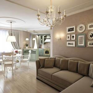 Уборка 3 - комнатной квартиры